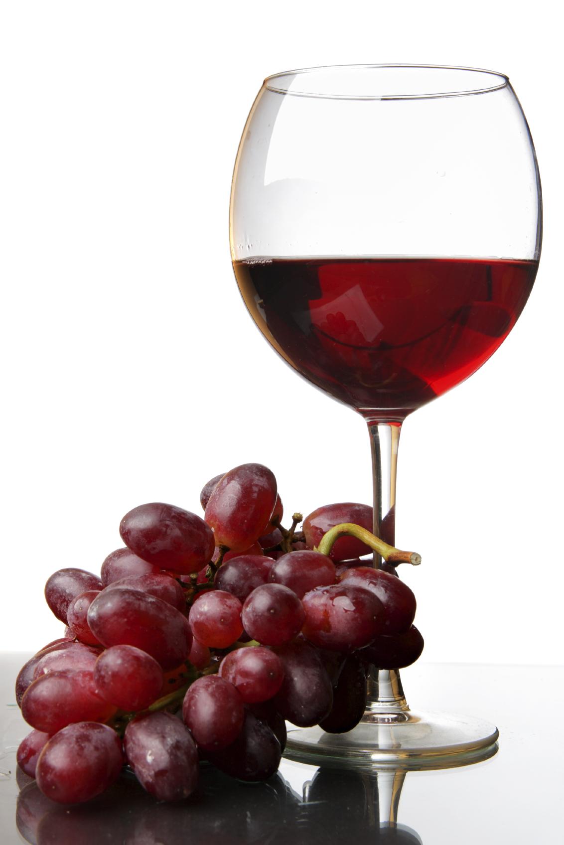 Czerwone wino nie tylko smaczne, ale i zdrowe